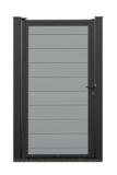 EURO WALL Composiet Poort Licht grijs vanaf 175 cm_