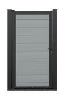 EURO WALL Composiet Poort Licht grijs vanaf 175 cm