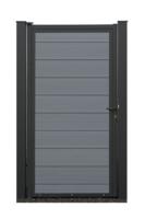 EURO WALL Composiet Poort grijs vanaf 175 cm