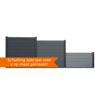 Schutting op maat ? EURO WALL Composiet schutting